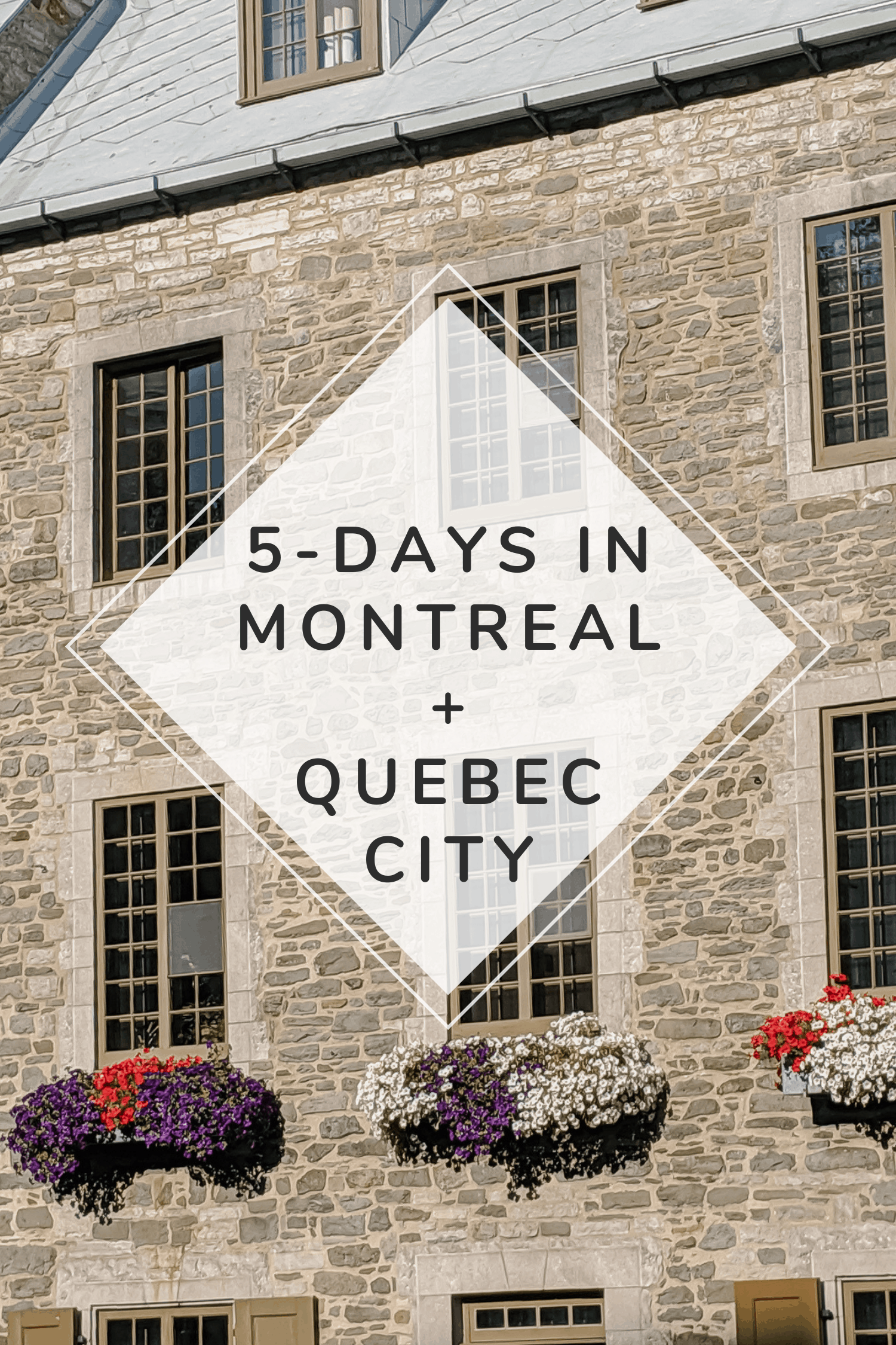 Five Days In Montreal and Quebec City