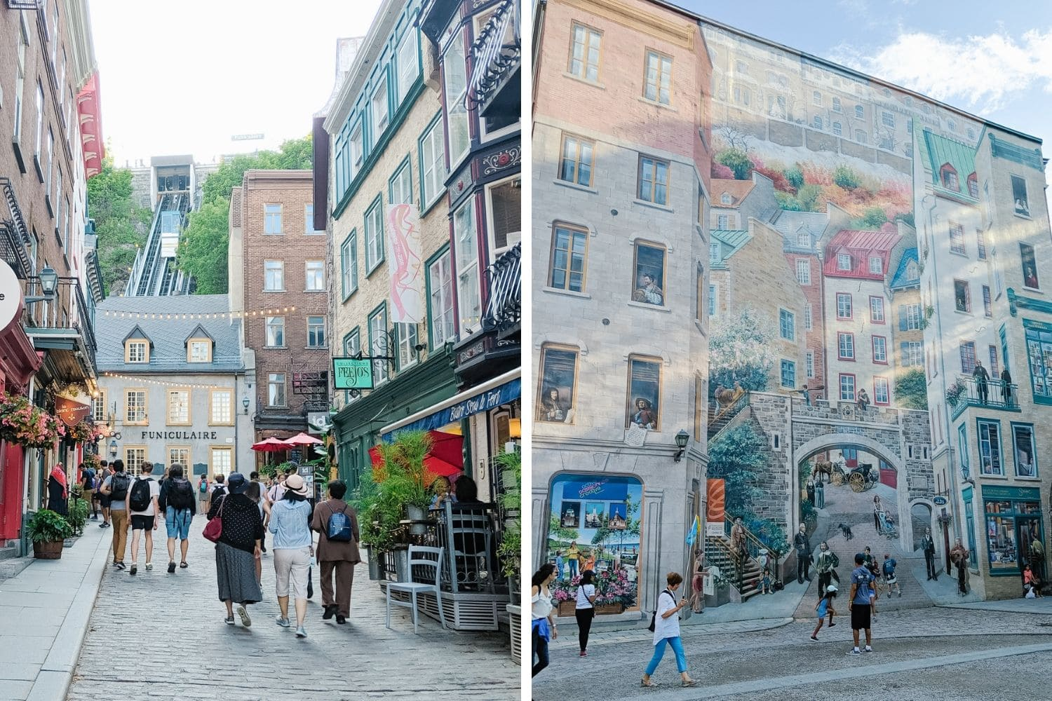 Quartier Petit Champlain in Quebec City