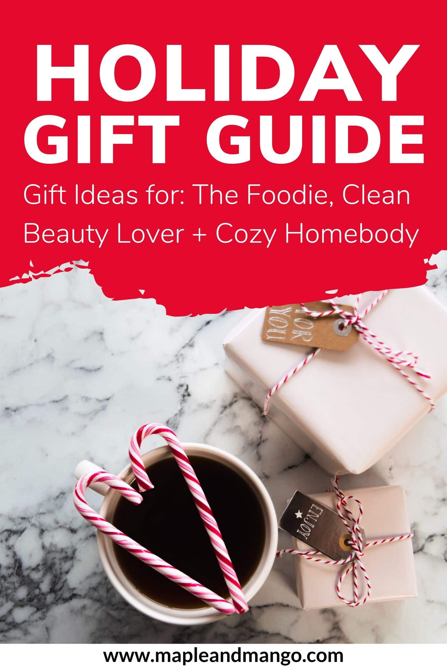 Pinterest Image For Holiday Gift Guide